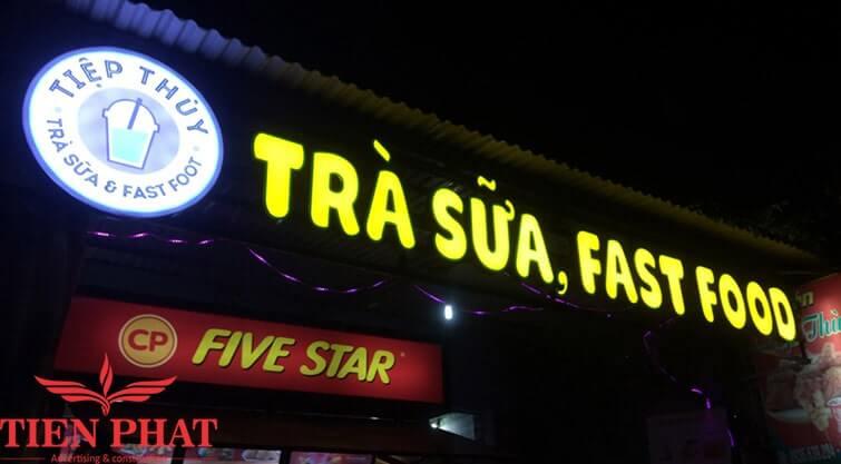 biển quảng cáo quán trà sữa đẹp hcm