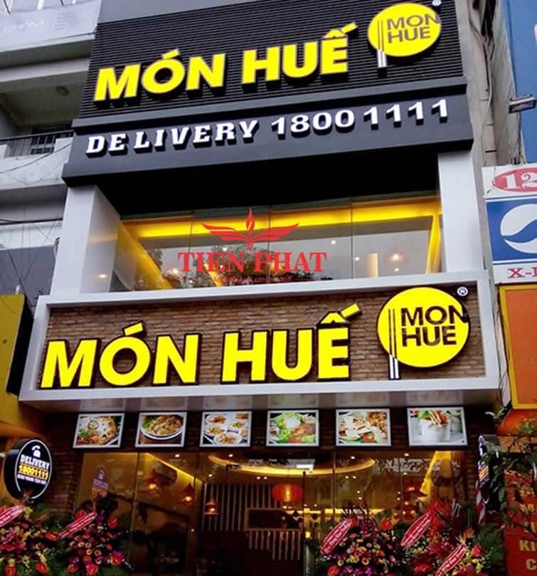 mẫu biển quảng cáo cửa hàng nhà hàng ăn uống hcm