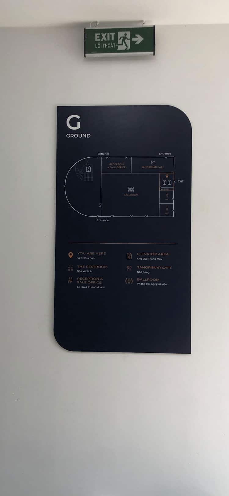 bảng sơ đồ tầng